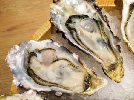 亜鉛を多く含む食べ物の牡蠣の写真