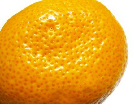 ミカン肌をイメージしたミカンの写真