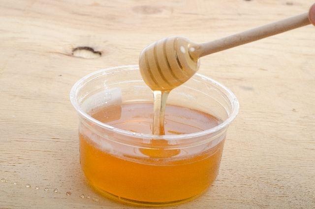ハチミツ洗顔につかう蜂蜜の写真