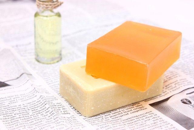 固形洗剤の写真