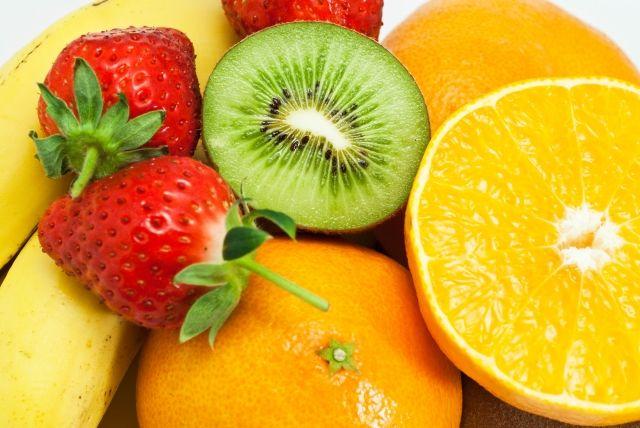 抗酸化物質のビタミンcを多く含むフルーツの写真