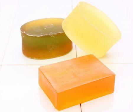 ピーリング石鹸の写真