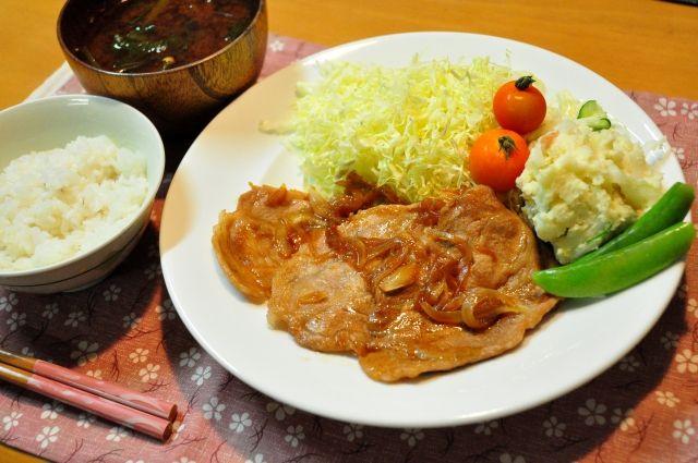 生姜焼きのイメージ写真