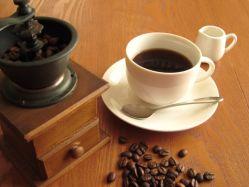 カフェインを含むコーヒーの写真
