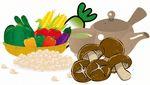 食物繊維を含む食品の画像